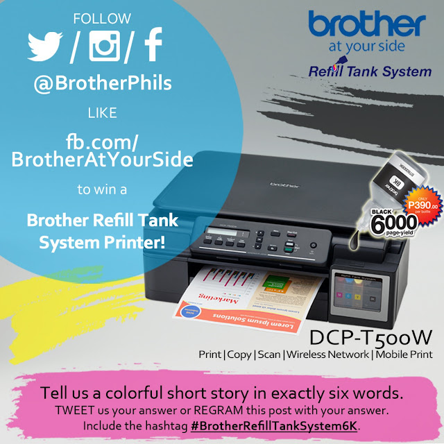 Brother PH says thanks through 'Brother 6K 6Word' online promo