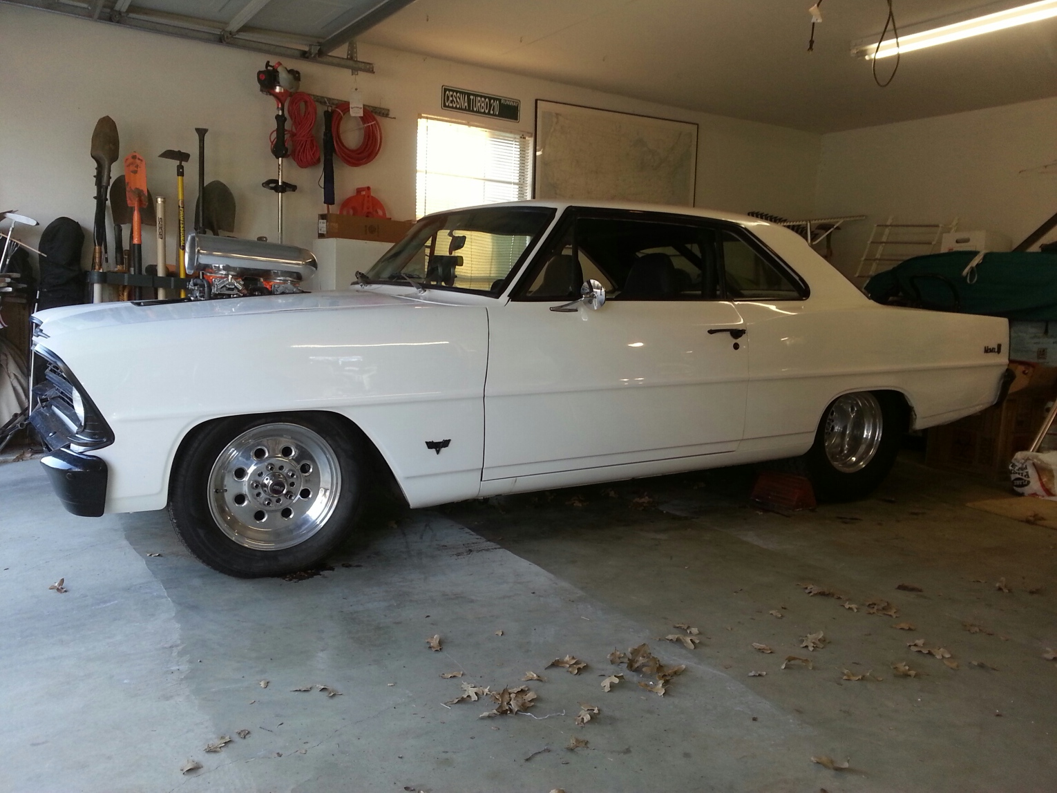 TDY Sales - STREET LEGAL 1966 CHEVY NOVA II COMPLETELY RESTORED FROM ...