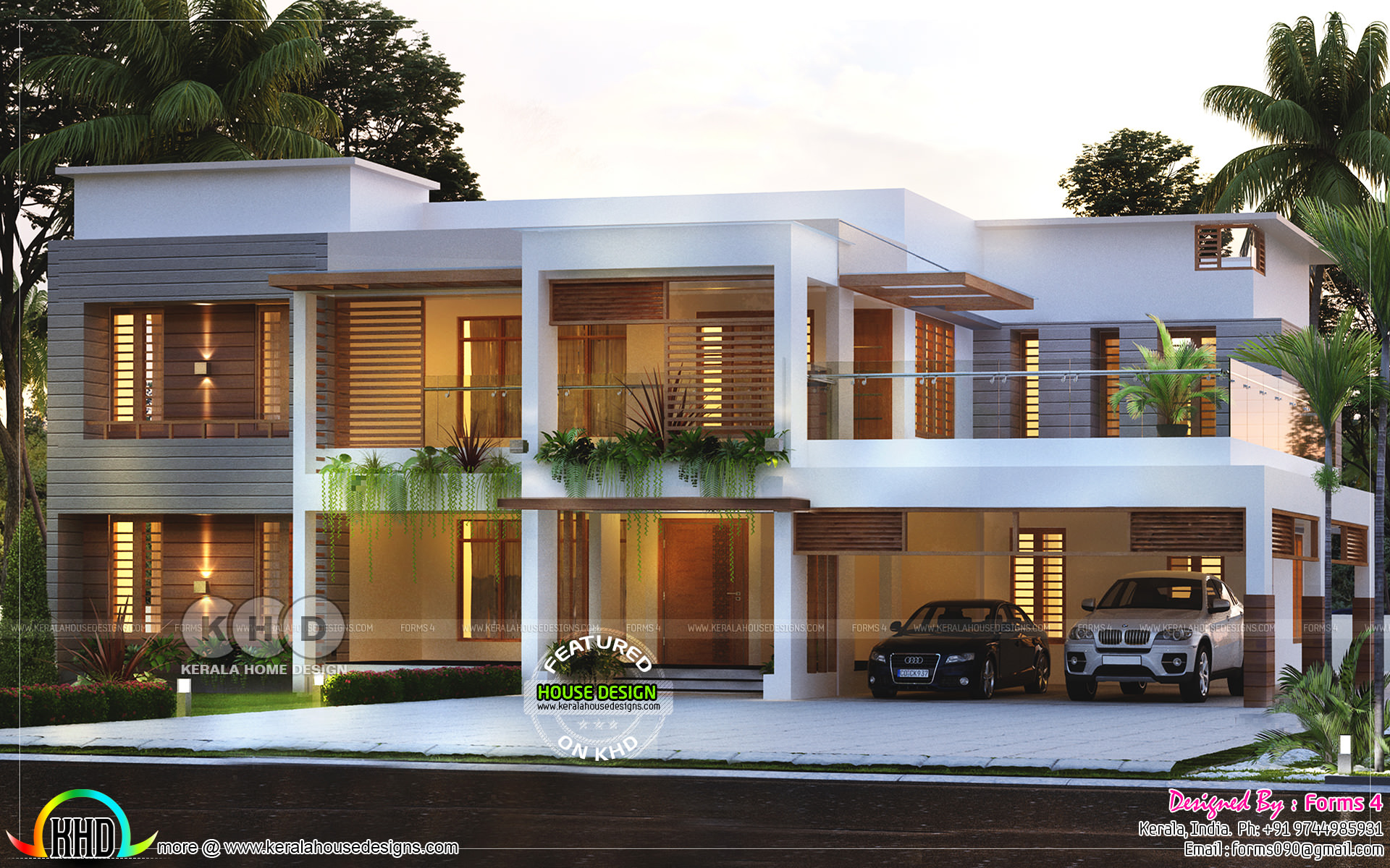Beautiful Simple Contemporary Style House 30 Lakhs