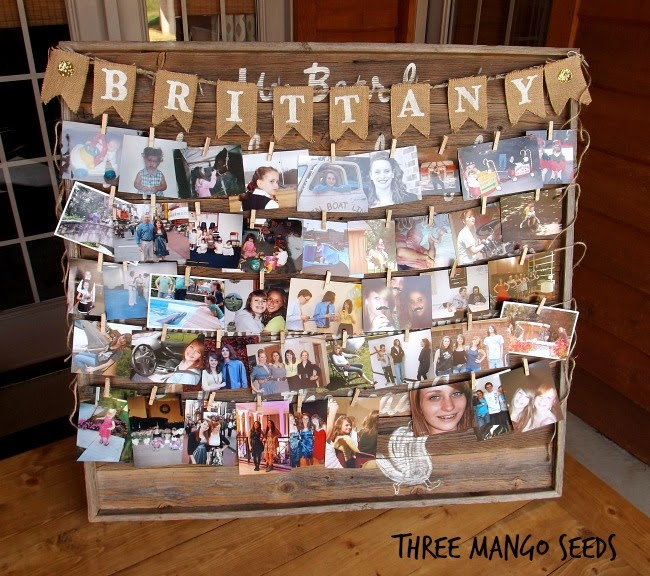 Three Mango Seeds: Photo Display Board (Senior Table ...