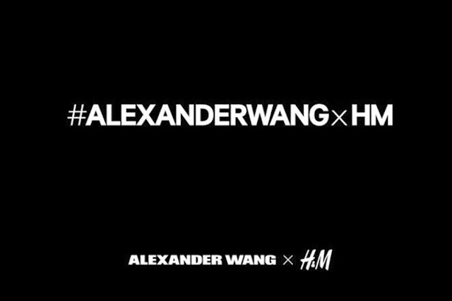 IT'S ALEXANDER WANG FOR H&M