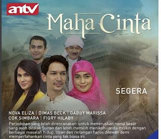 Biodata Lengkap Pemain Sinetron Maha Cinta ANTV