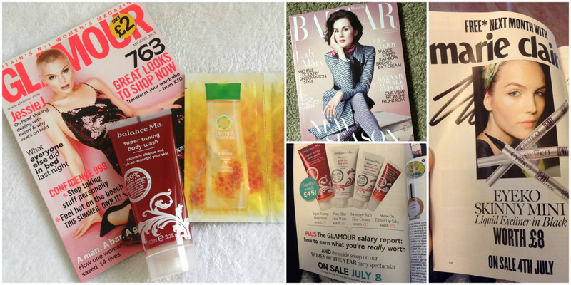 Magazine Freebies: August Editions!