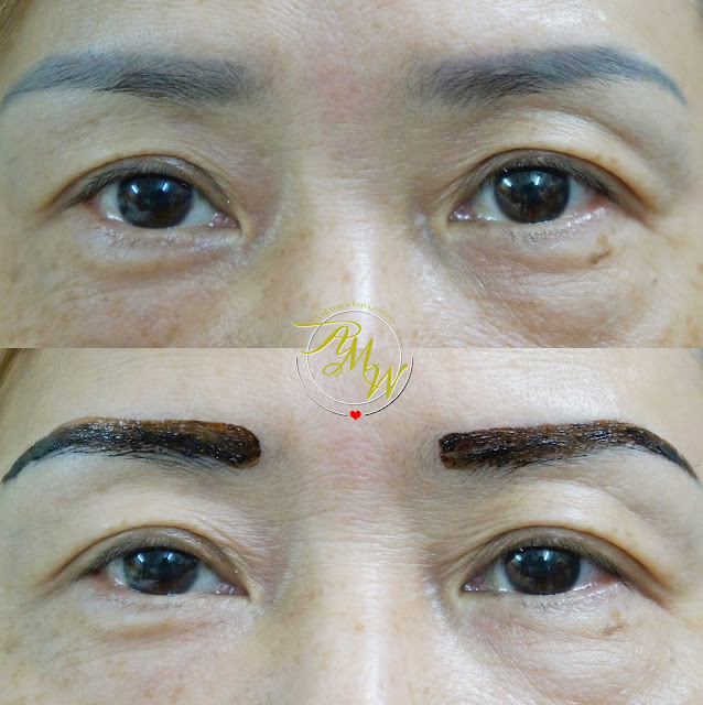 a photo on how to use Etude House Tint My Brows