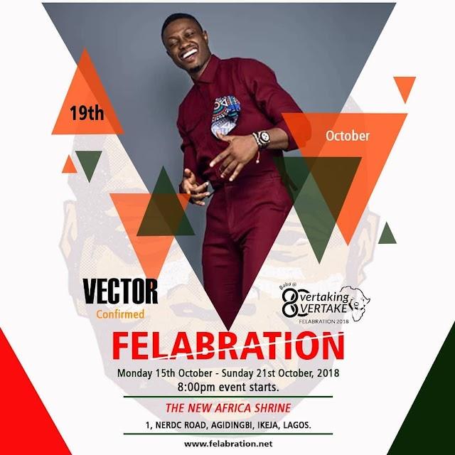 VECTOR CONFIRMED FOR FELABERATION