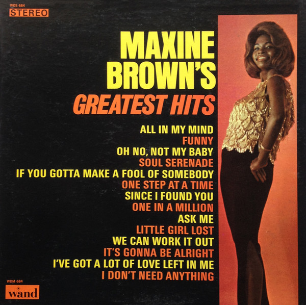 Maxine Brown Little Girl Lost