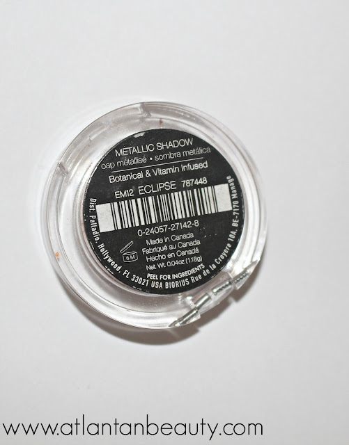 Palladio Beauty Crushed Metallic Eyeshadow in Light Year