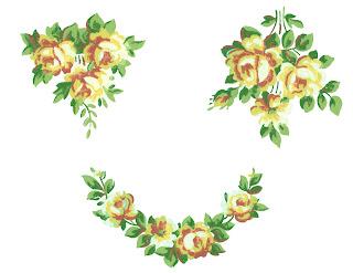 rose flower image clip art printable download