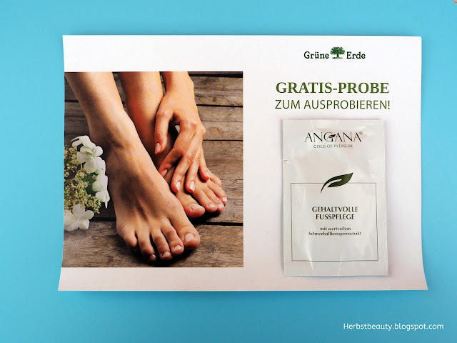 Grüne Erde Angana Fußpflege