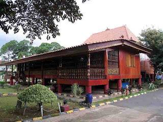 Rumah Adat Palembang  dan Penjelasannya