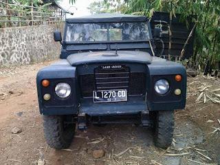 Silahkan Yang Suka Land Rover Jadoel Long 1981 - BANDUNG