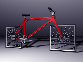 bicicleta conceptual 3D