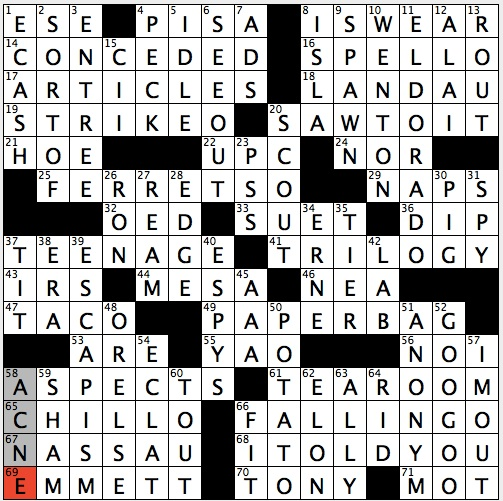 Rex Parker Does The Nyt Crossword Puzzle Horse Drawn Vehicle Thu 6 6 13 Conquistador S Quest World Capital That S Setting For Three Bond Films Doc Brown In Back To Future Films