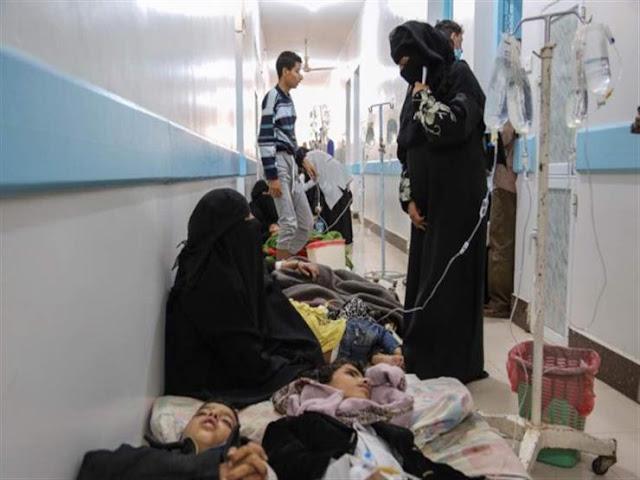 تحذيرات من انتشار الكوليرا في اليمن..والأمم المتحدة تؤكد أن اليمن على وشك المجاعة