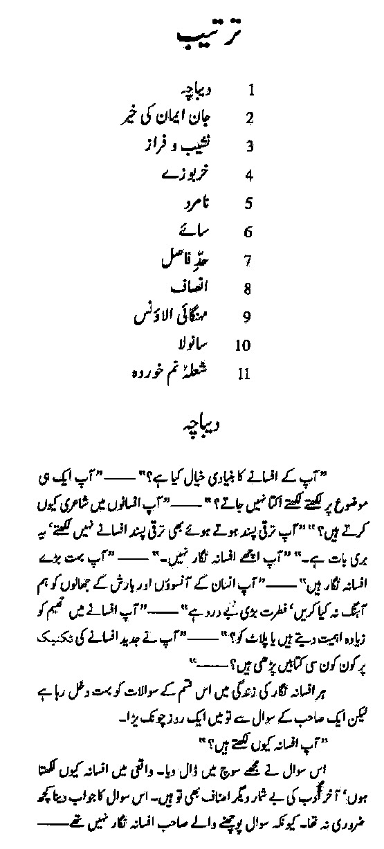 Urdu Afsanay Collection Aanchal in PDF