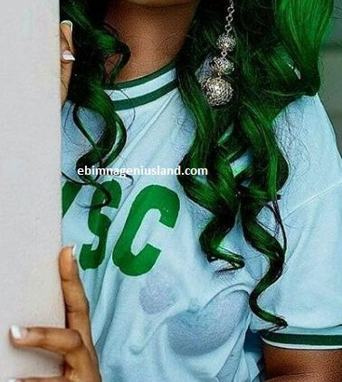 Corps Member Flashes Her Nipples in Wet NYSC Crested Vest - See Photos