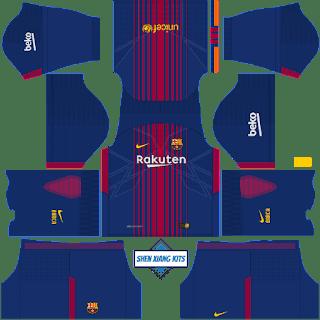 DLS 18 Kits Barcelona
