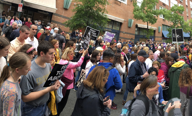 Hundreds of Pro-Life People Rally to Condemn PA Democrat State Rep Brian Sims for Bullying Pro-Life Women