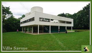 Vie quotidienne de FLaure : Visite de la villa Savoye (Poissy) (78)