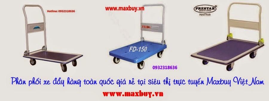 Maxbuy cung cấp nhiều loại xe đẩy hàng