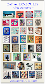 Quilt Inspiration Free Pattern Day Cat And Dog Quilts