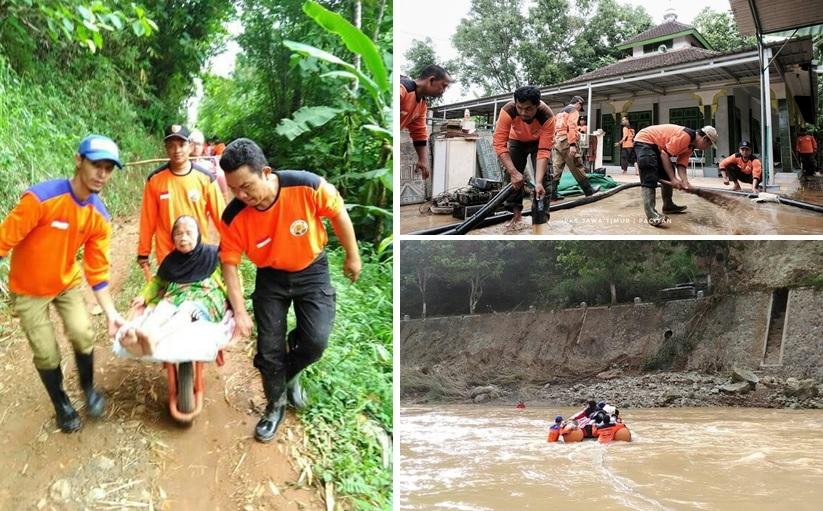 PKS tanggap bencana di Pacitan