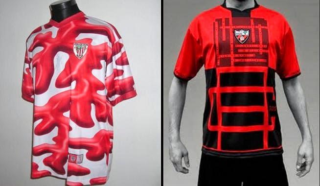 Camisetas del Athletic 2004 y Las Arenas 2009. 4c7e8412b0c20