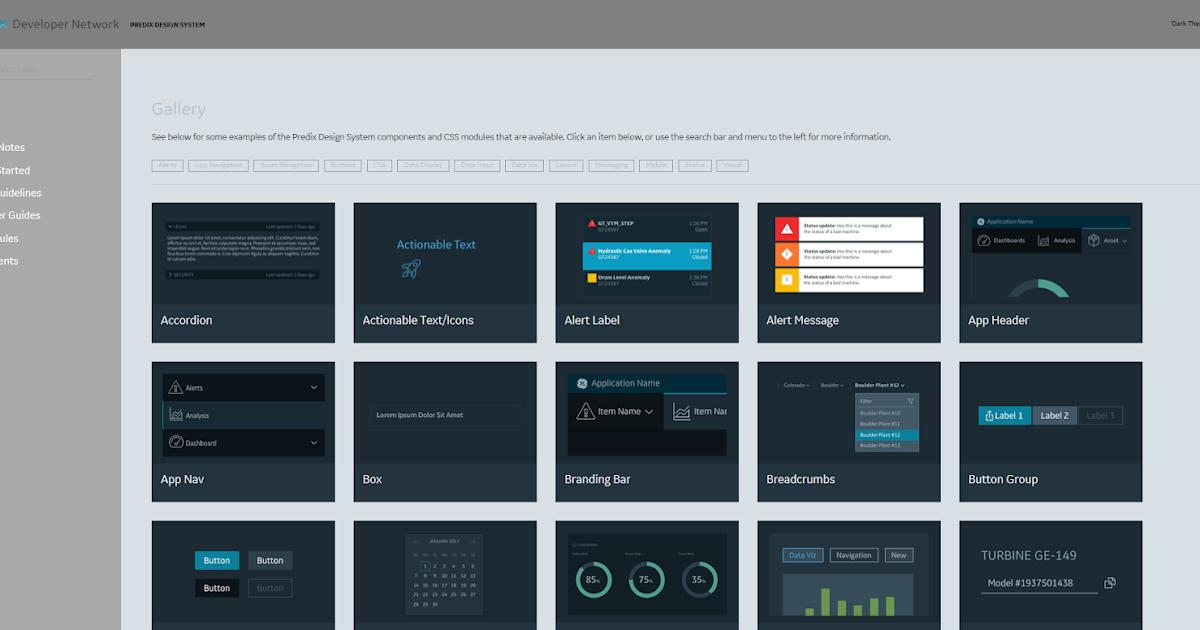 Predix Design System Ge Digital