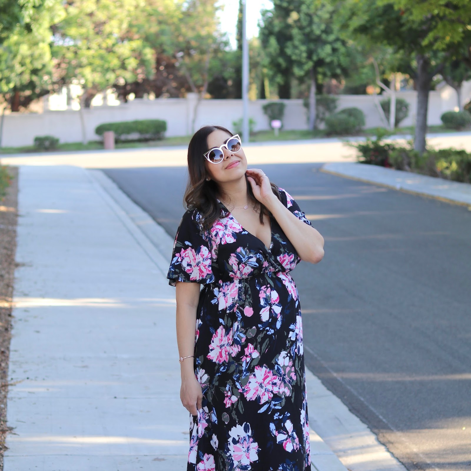 Latina Fashion Blogger, San Diego style bloggers, top san diego fashion blogger, comfy maternity dress