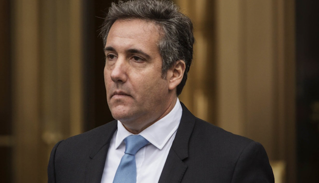 Michael Cohen Debuts the Art of the Squeal