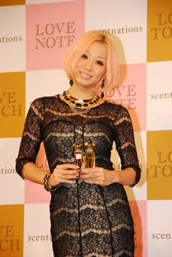 Kumi Kehovah steps out to promote perfume. Looks on point | randomjpop.blogspot.co.uk