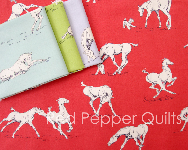 Purebred by Erin Michael for Moda Fabrics | Red Pepper Quilts 2015