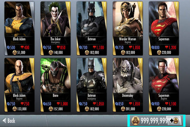 Injustice Gods Among Us Apk