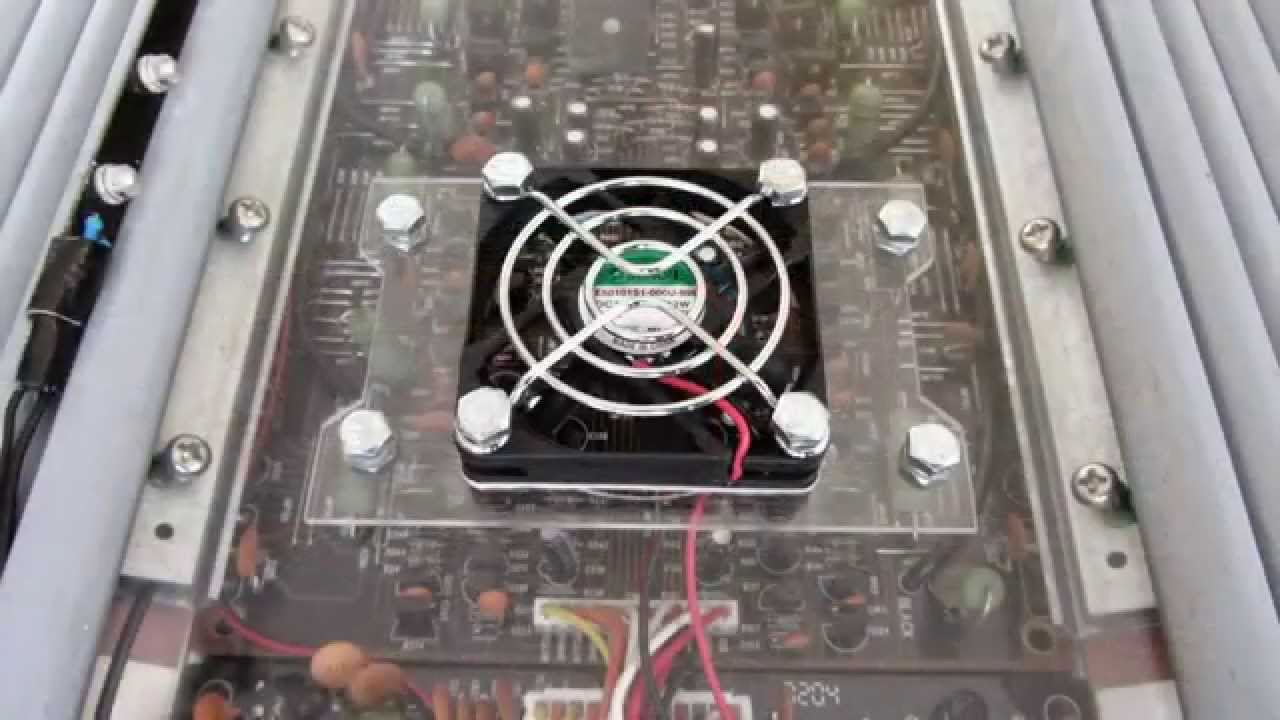 How To Keep Amp In Trunk Cool Using Fans Install Car Audio A If You Have Bridged Your Amplifier Low Final Ohm Load Might Suffer From Overheating And Go Into Protect Mode At Some Random