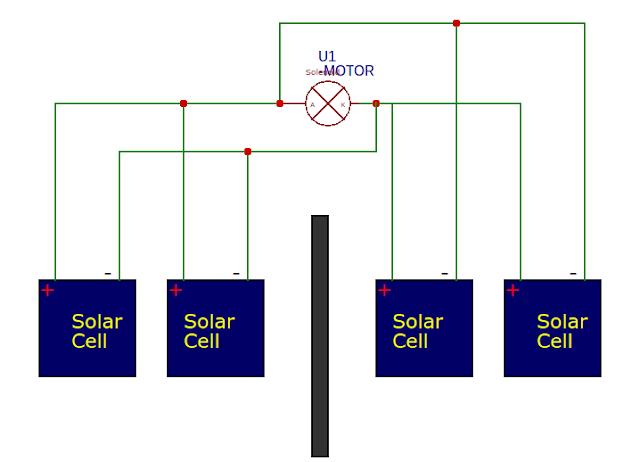 solar tracker circuit