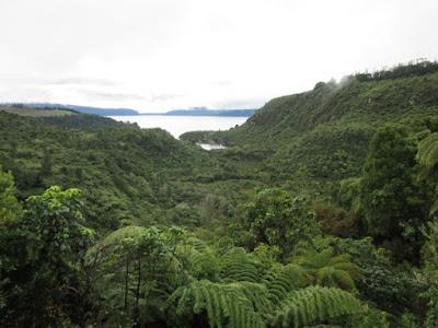 Lago Tarawera, Nueva Zelanda
