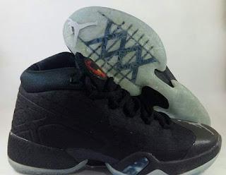 Air  Jordan XXX  Black Premium , Sepatu Basket Premium, Sepatu Basket Import, Sepatu Basket Murah