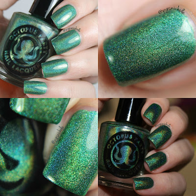 Octopus Party Nail Lacquer Clover Shield