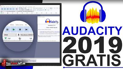 Como Descargar Audacity Ultima Version 2019 FULL ESPAÑOL