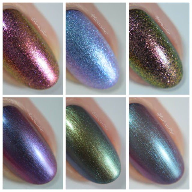 'ard as nails colour shift collection macro review