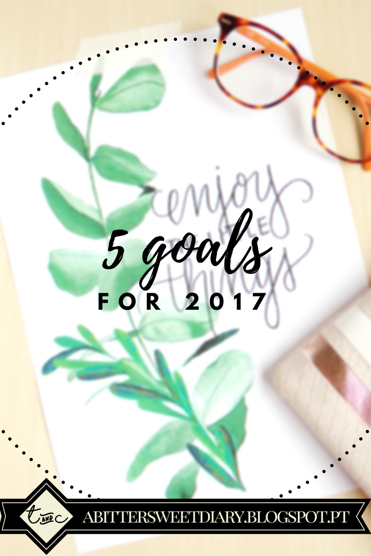 5 Things I Want To Do in 2017 - Tea & Curls