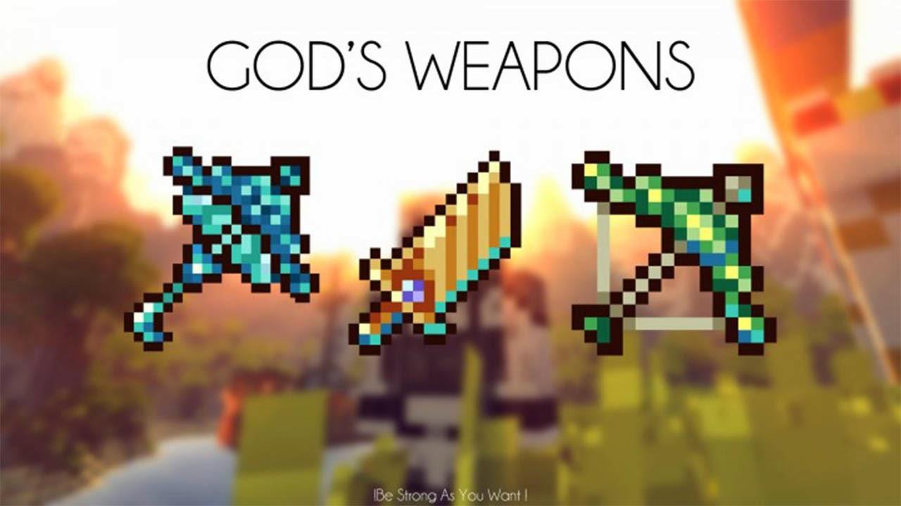 Gods' Weapons 1.7.10   Como Instalar Mods No Minecraft ...