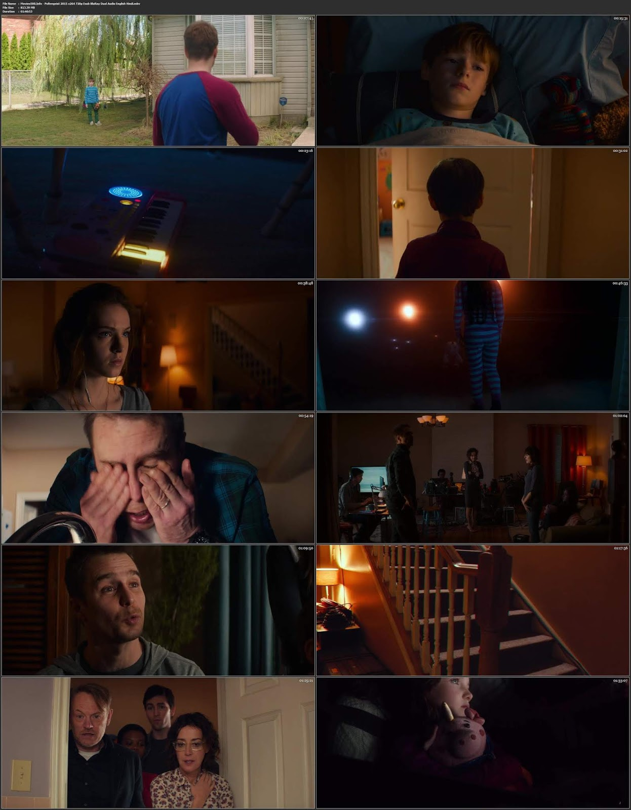 Poltergeist 2015 Dual Audio Hindi Full Movie BluRay 720p