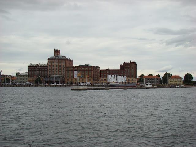 Kalmar - widok od strony morza