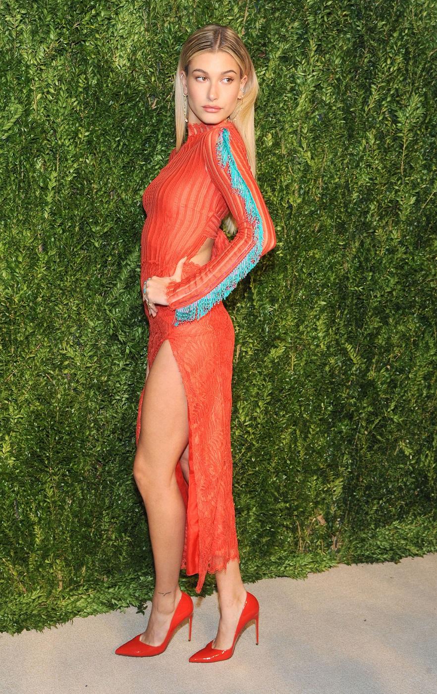 Hailey Baldwin – 13th Annual CFDA/Vogue Fashion Fund Awards in NY