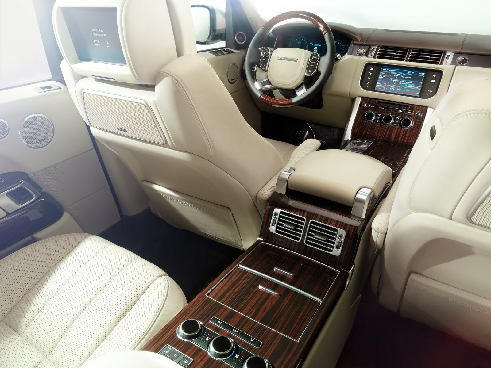 Automotive database range rover l405 - Range rover with red leather interior ...