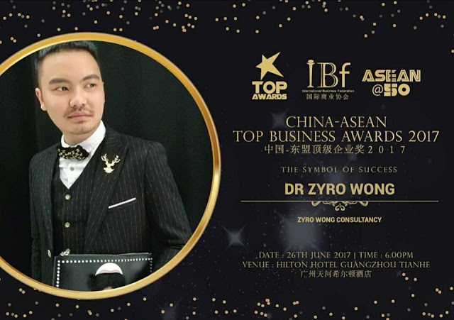 Dr Zyro Wong's recent achievements