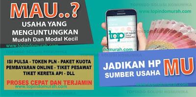 Topindo bisnis pulsa online