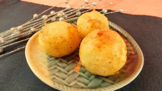 材料2つで簡単美味しい!まんまるじゃがいものチーズボールの作り方