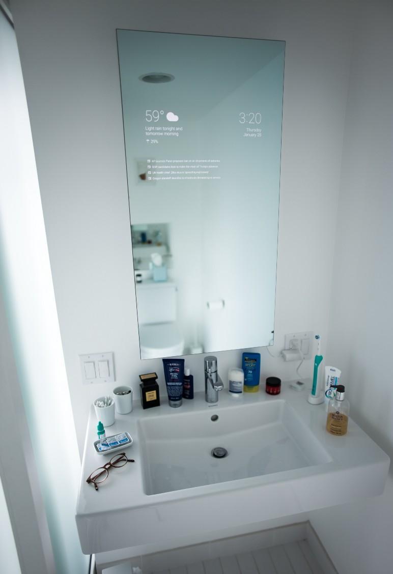 Simple Smart Bathroom Mirror